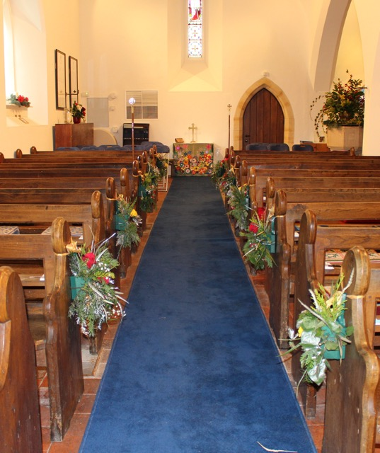 Decorated Pews - 1