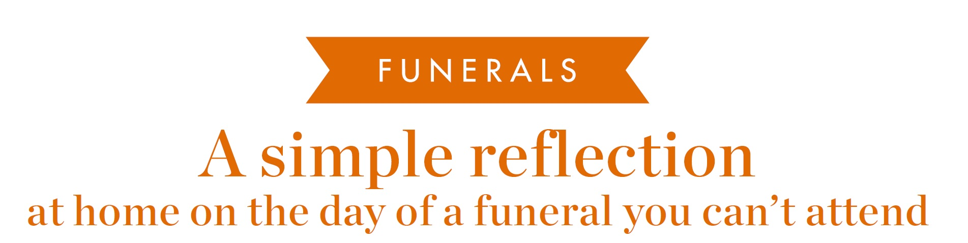 Home Reflection Funeral