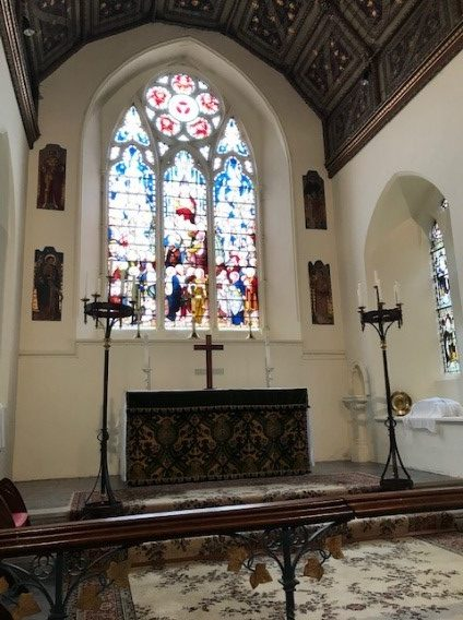 St James Eastbury - Alter