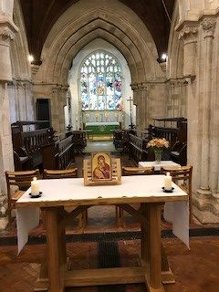 Table, Choir and Alter in Saint Michael's